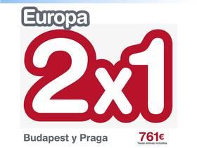 OFERTON 2X1 BUDAPEST Y PRAGA