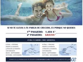 2x1 CRUCERO CUBA Y CARIBE